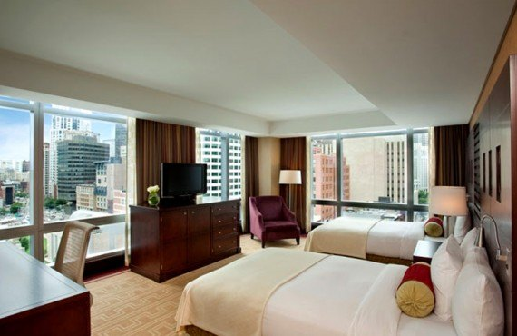 Intercontinental Boston - Chambre 2 lits