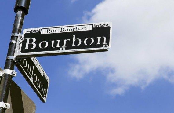 La célèbre Bourbon street
