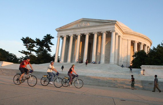 National Mall à vélo, Washington, DC