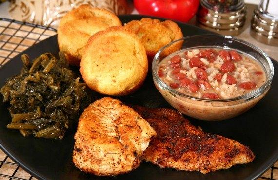 Repas typique Cajun
