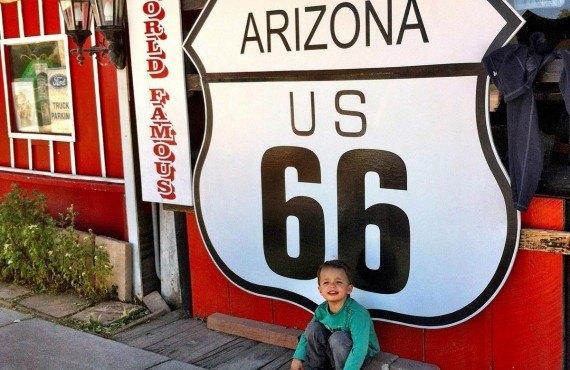 Petit repos le long de la Route 66