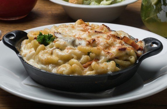 Macaroni fromage gratiné