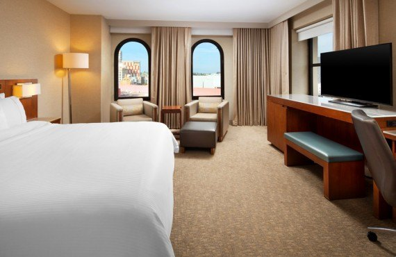 The Westin Gaslamp Quarter - Chambre exécutive lit King