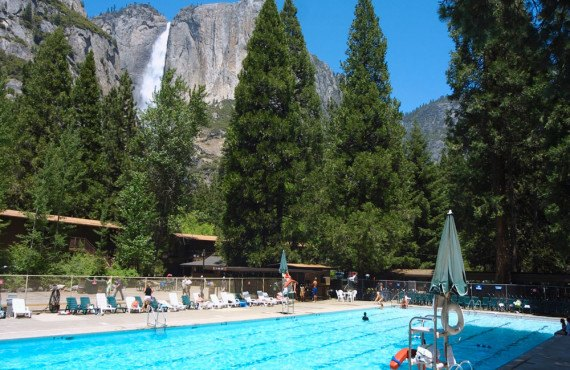 Yosemite Valley Lodge-Piscine