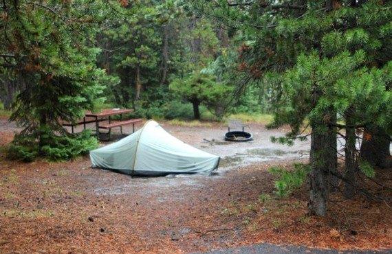 Site pour tentes