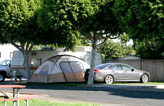 Anaheim Resort RV Park - Tente
