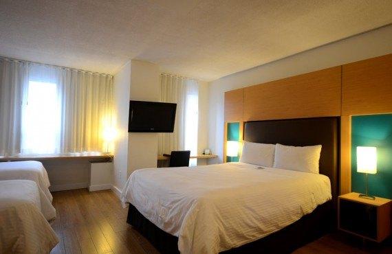 Hôtel Bond Place - Chambre 3 lits