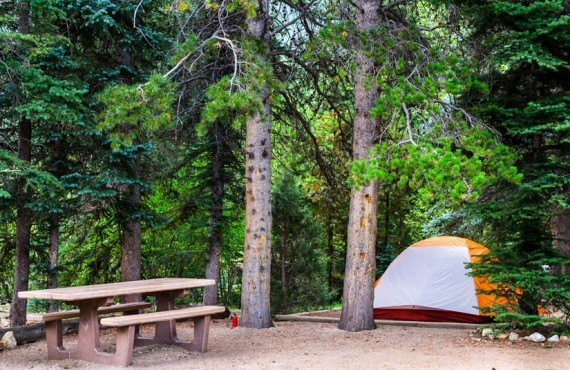 Camping Rocky Mountains - Tente
