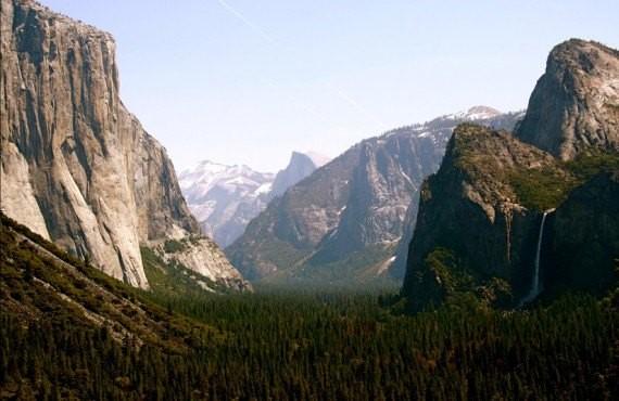 Tunnel View - Parc Yosemite