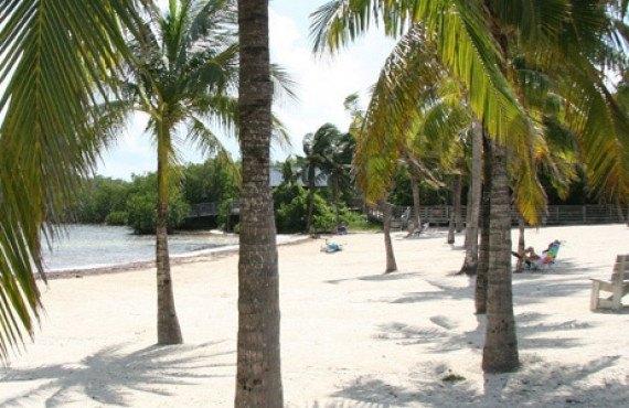 La plage du Camping