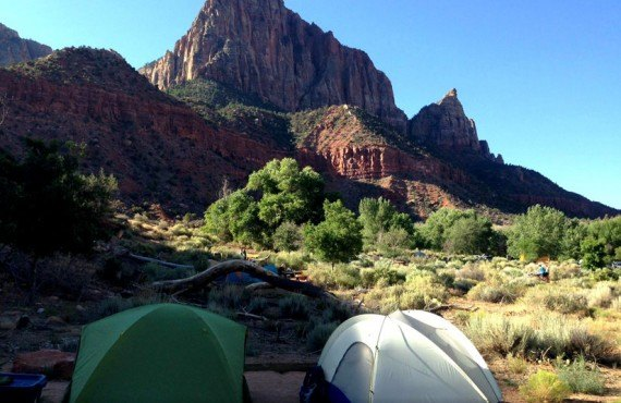 Camping du Parc Zion - Tentes