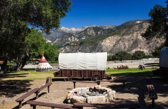 Camping Rancho Oso - caravane