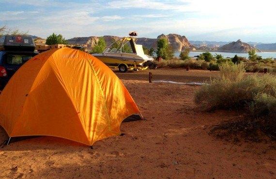 Camping Wahweap - Tente