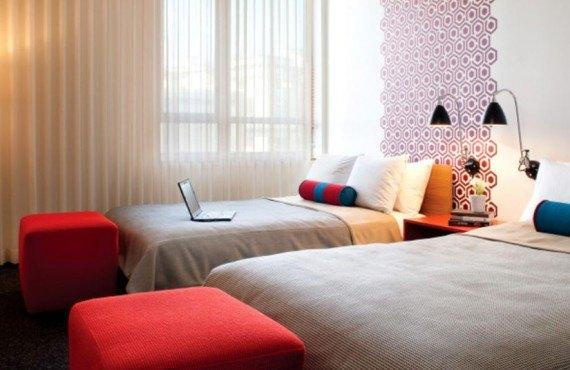 Custom Hotel - Chambre 2 lits