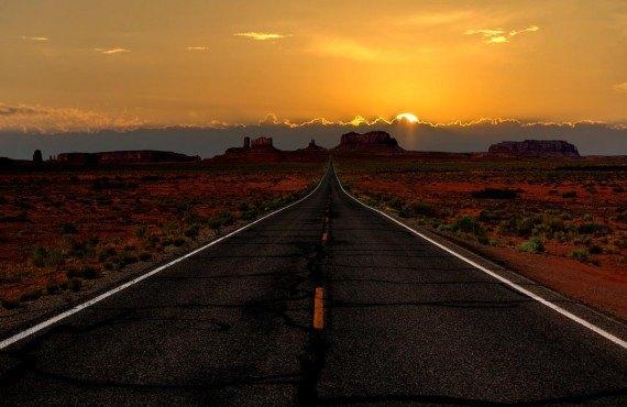 En route vers l'Ouest americain