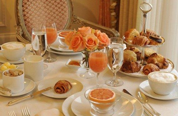 Grand America Hotel - Petit-déjeuner