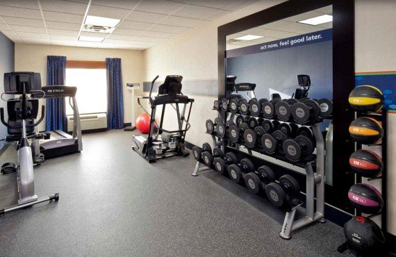 Hampton Inn New Haven - Salle de Gym
