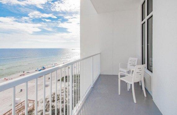 Vue du balcon privé