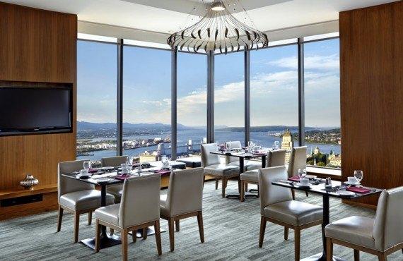 Hôtel Hilton Québec - Restaurant le 23