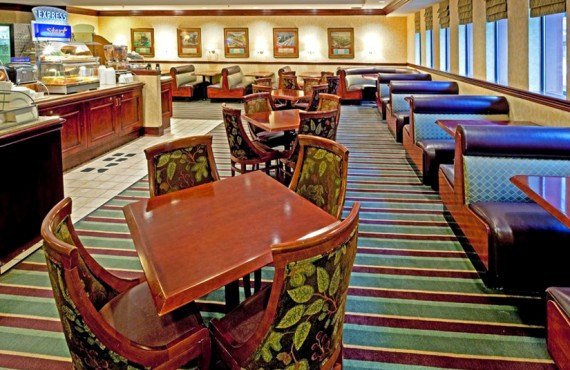 Holiday Inn Express Midtown - Salle du Petit-déjeuner