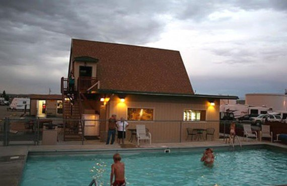 Green River Koa - Piscine
