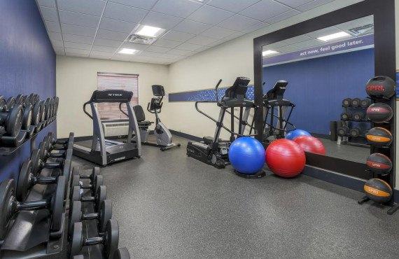 Hampton Inn New Haven - Salle de sport