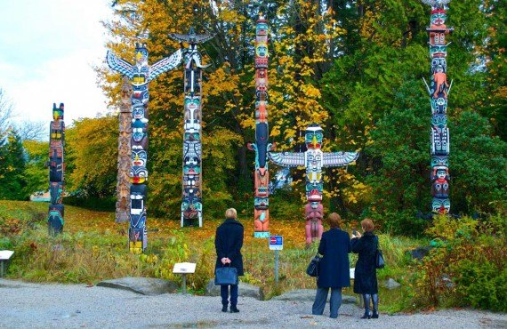 Totems - Parc Stanley