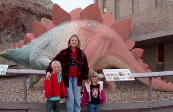 Vernal Dinosaurland Koa - Visite au musée