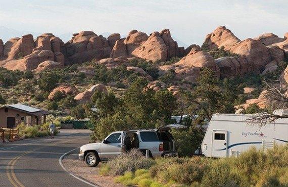 Camping du Parc des Arches