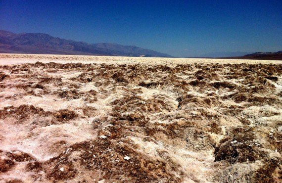Badwater, ancienne mer dont il ne reste que le sel