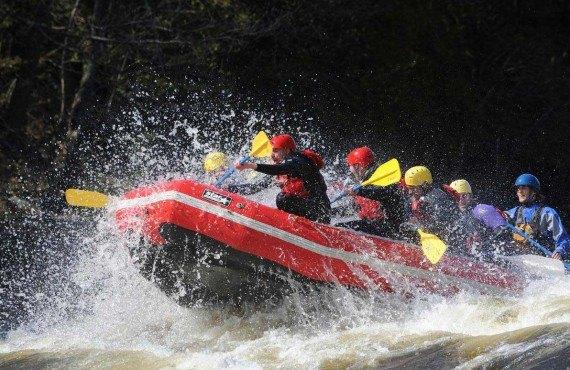 Descente en Rafting