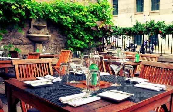 Restaurant Auberge Saint-Gabriel - Terrasse