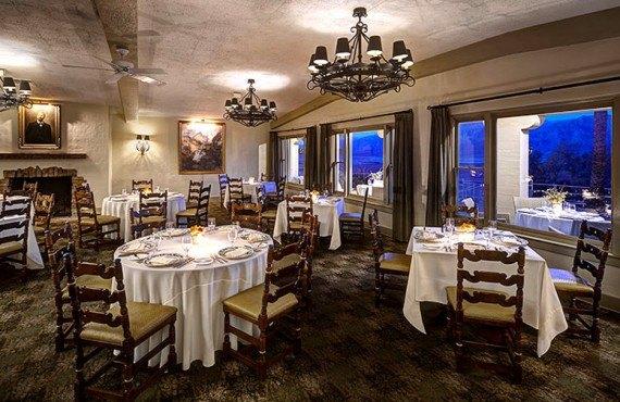 Salle à manger du Furnace Creek Inn