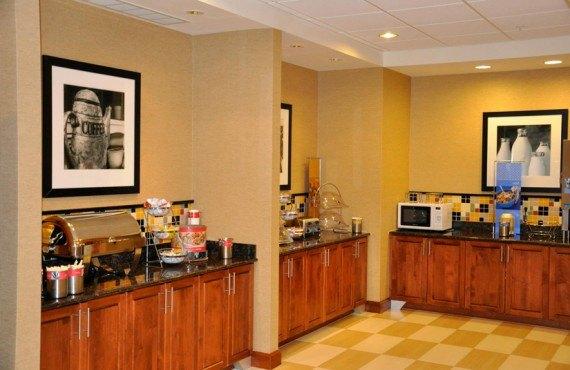 Hampton Inn Rock Springs - Petit-déjeuner