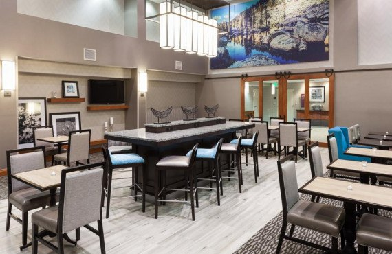 Hampton Inn Tulare-Salle à manger