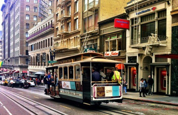 Les fameux Cable Car - San Francisco
