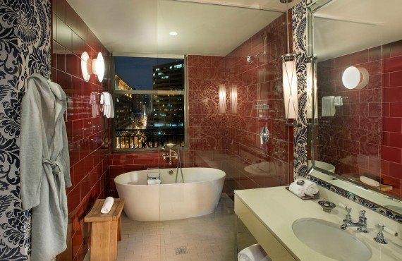 Salle bain d'une chambre