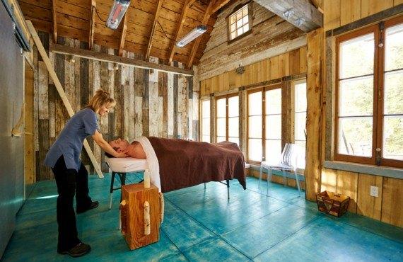 Pourvoirie du Baluchon - Massage