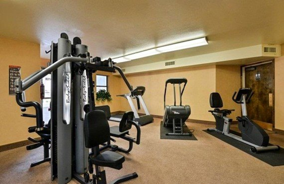 Quality Inn Navajo - Salle de fitness