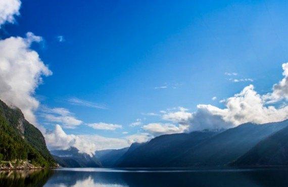 Vue sur le fjord du Saguenay