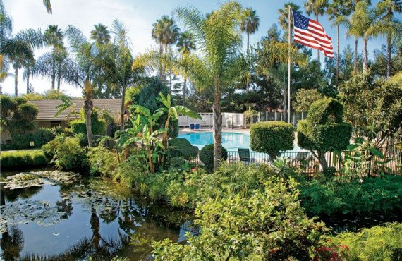 Jardins et lagon