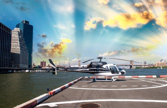 Tour de New York en hélicoptère