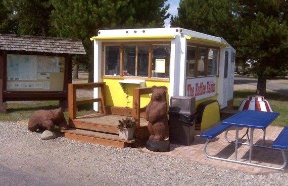 The Coffe kabin sur le site