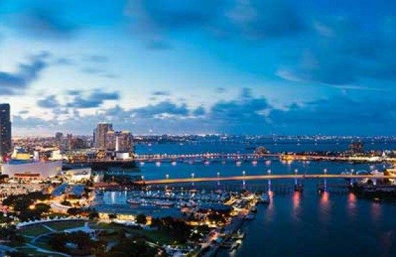 Soirée à Miami