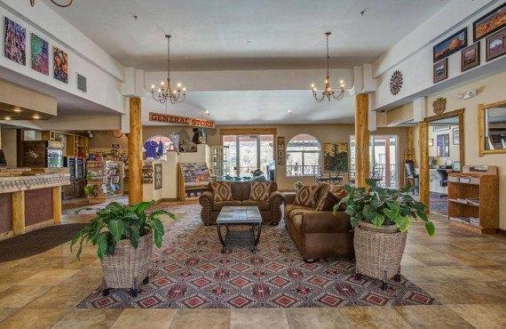 Lobby de l'hôtel
