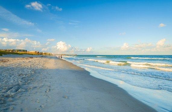 Plage de Cocoa Beach, FL