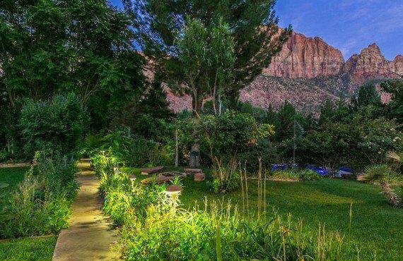 Cliffrose Lodge - Jardin