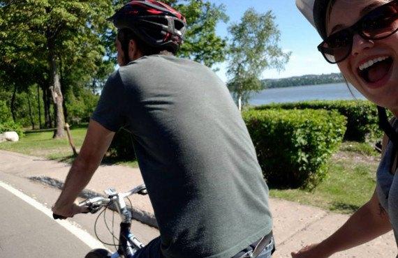 Explorez l'île d'Orléans à vélo