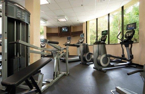 DoubleTree Westside - Salle de Gym