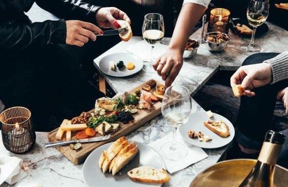 Repas du restaurant